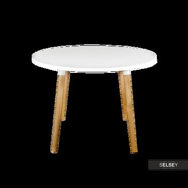 Tisch COPINE weiß 100 cm rund