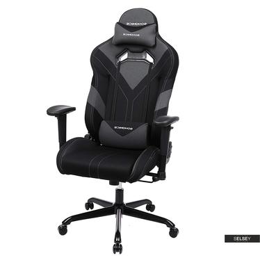 Gaming Stuhl MANJARAN DARKY schwarz/grau