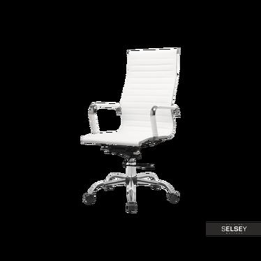 Bürostuhl OLIMP weiß mit Drehfunktion