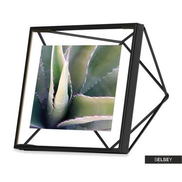 Bilderrahmen PRISMA 10x10 cm schwarz