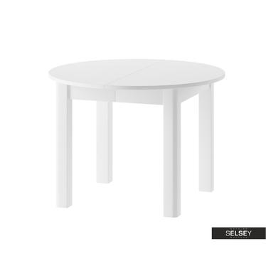 Esstisch CEDROSSE in Weiß ausziehbar 105-240 cm