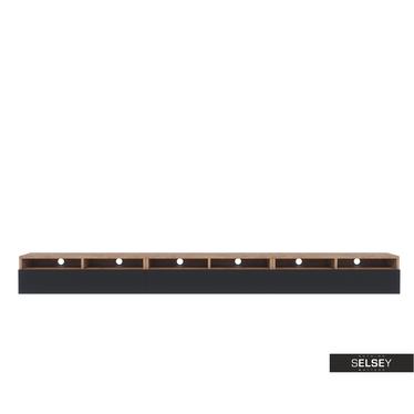 TV-Lowboard REDNAW mit 3 Schubladen, 300 cm