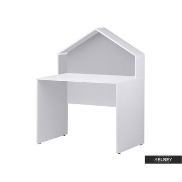 Schreibtisch VESPE weiß / grau für Kinderzimmer