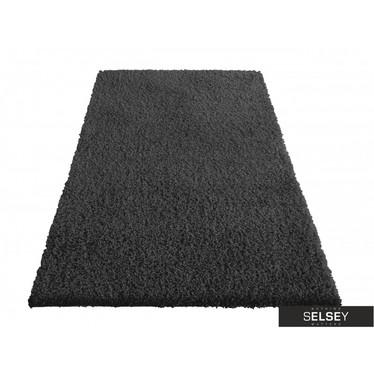 Teppich FLOSSY anthrazit Hochflor