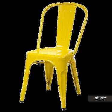 Stuhl PARIS gelb Tolix Design