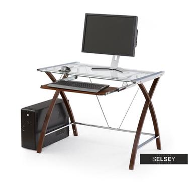 Computertisch STYLE mit Glasplatte