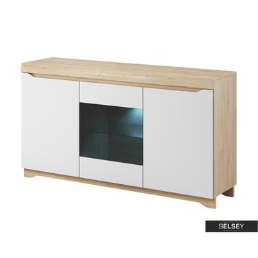 Sideboard ANTIGUA mit Glaseinsatz