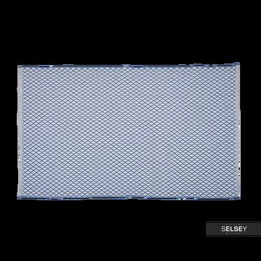 Teppich MAROKKO geflochten mit feinem Rauten-Muster
