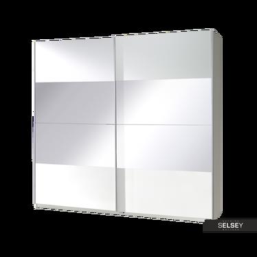Kleiderschrank CANDY mit Spiegel (mittig)