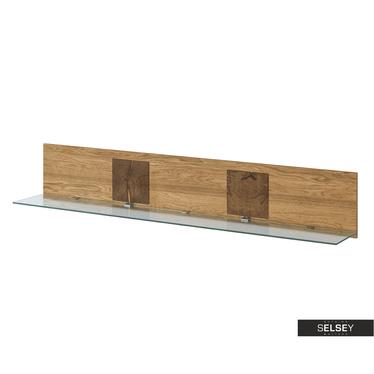Wandregal GARRAY 160 cm mit LED-Beleuchtung