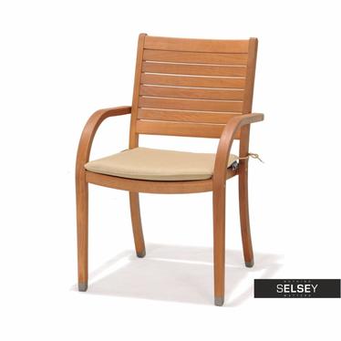Gartenstuhl CATALINA mit Sitzkissen und Armlehnen