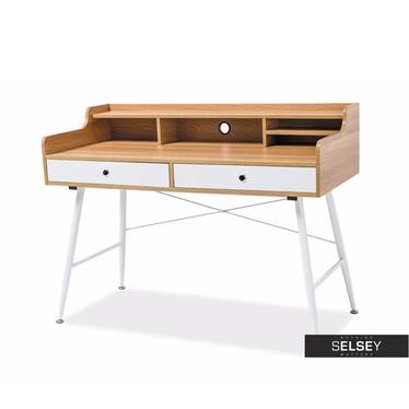 Schreibtisch SORRENTO mit 2 Schubladen