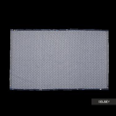 Teppich MARokko geflochten mit Zick-Zack Muster