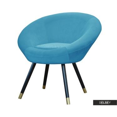 Sessel RONDIE blau