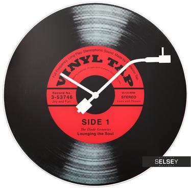 Schallplattenuhr VINYL TAP 43 cm