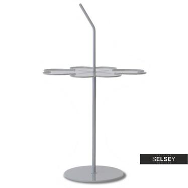 Beistelltisch LIMB grau 43x43 cm