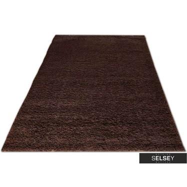 Teppich FLOSSY braun Hochflor