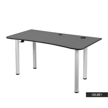 Gaming-Tisch BAZER grau