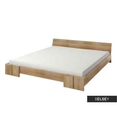 Bett LOKE niedrig, mit Lattenrost (Buchenholz)