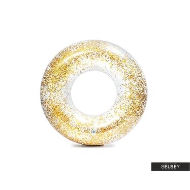 Schwimmring GLITTER  gold 119 cm