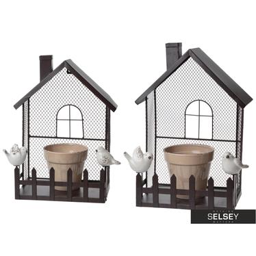 Blumentopf Haus