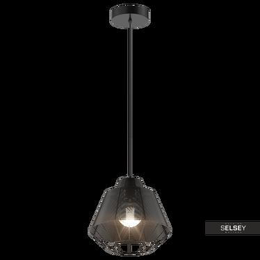 Pendelleuchte FERGUSON schwarz 25 cm aus Draht