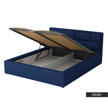 Polsterbett NUBERO optional mit Bettkasten