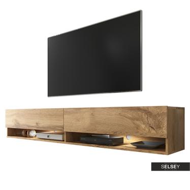 TV-Lowboard WANDER 180 cm hängend/stehend optional mit LED RGB