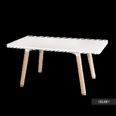 Esstisch COPINE weiß 160x80 cm