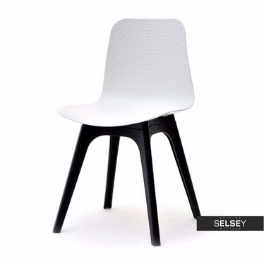 Stuhl CARO DSX weiß/schwarz