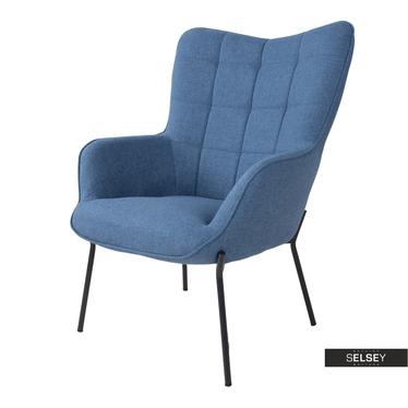 Sessel GLABER Blau