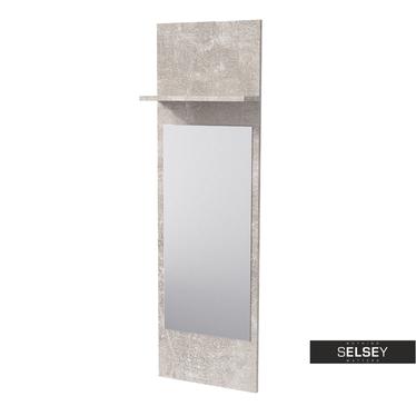 Wandpaneel DARILEL mit Spiegel und Ablage