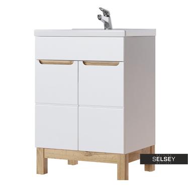 Waschbeckenunterschrank JAKARTA 60 cm