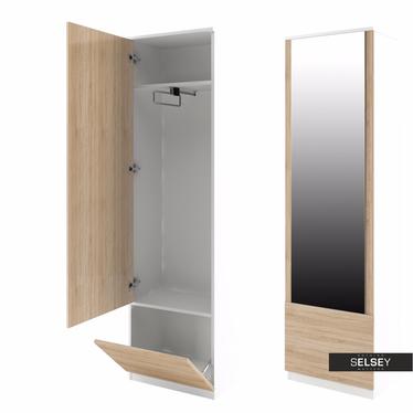 Schrank mit Spiegel KATE (Garderobe, eng)
