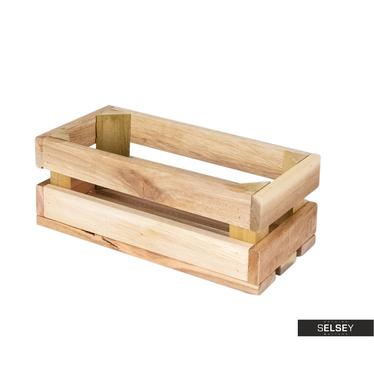 Holzkiste MINTBUSH 24x11 cm