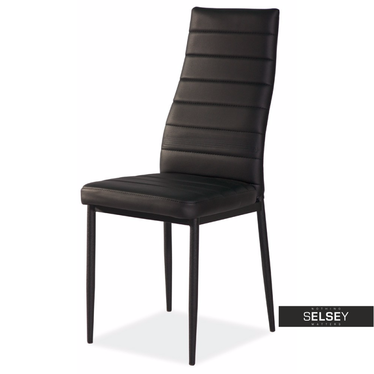Stuhl LASTAD schwarz/schwarz