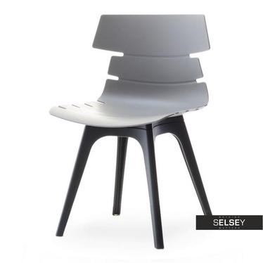 Kunststoffstuhl ZAC DSX grau/schwarz
