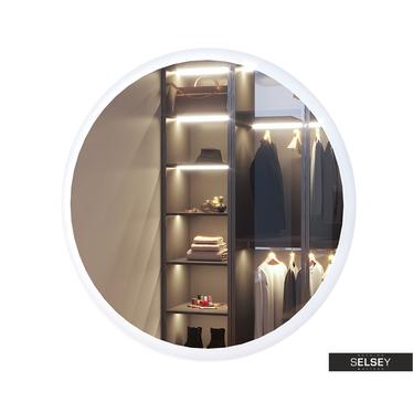 Wandspiegel GOOLAR rund mit LED 80 cm