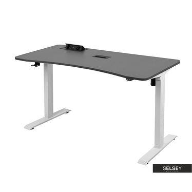 Gaming-Tisch TARAQ grau