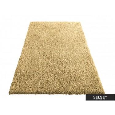 Teppich FLOSSY Karamellfarbe Hochflor