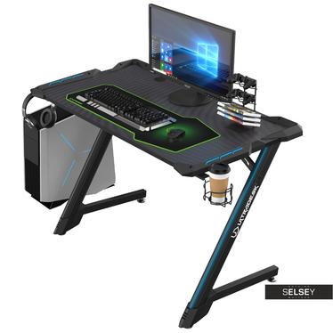 Gaming Tisch CORLI schwarz