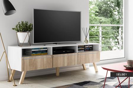 tv lowboard lavello wood mit led. Black Bedroom Furniture Sets. Home Design Ideas