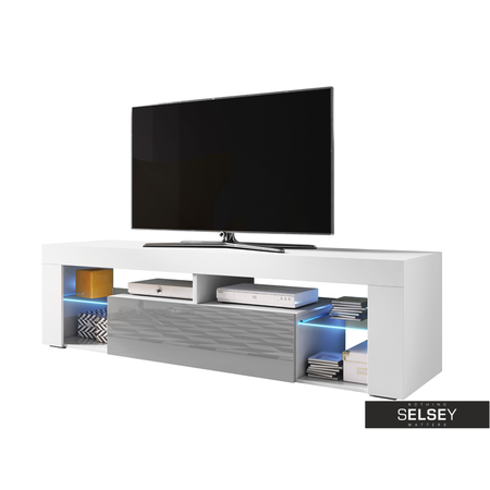 TV-Lowboard HUGO II mit LED 160 cm